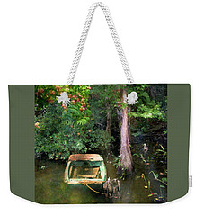 The Fishing Hole Weekender Tote Bag