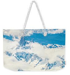 Weekender Tote Bag featuring the photograph The Fitz Roy by Andrew Matwijec