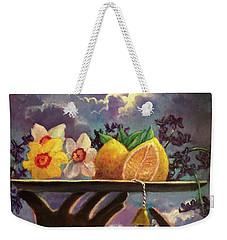 The Five Senses Weekender Tote Bag