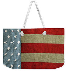 Weekender Tote Bag featuring the photograph The Flag by Tom Prendergast
