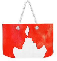 The Flame Of Love Weekender Tote Bag
