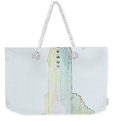 The Flat Iron Building Weekender Tote Bag