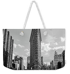 The Flatiron Building New York Weekender Tote Bag