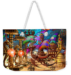 The Fleet Has Arrived Weekender Tote Bag by Ciro Marchetti