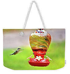 The Flight Of The Hummingbird Weekender Tote Bag