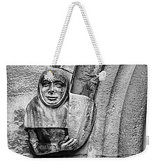 Weekender Tote Bag featuring the photograph The Floating Guard by Christi Kraft