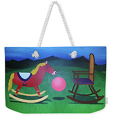 The Floating In-between Weekender Tote Bag by Thomas Blood