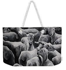 Flock 17 Weekender Tote Bag by Jean Cormier