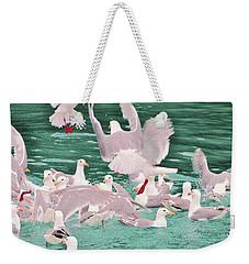 The Flock Weekender Tote Bag