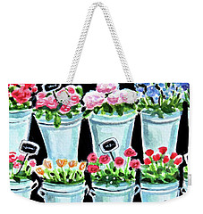 The Flower Shop Weekender Tote Bag