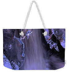 The Flow Of Winter-2 Weekender Tote Bag by Sean Sarsfield