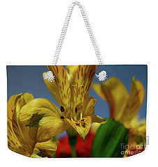 The Flower Weekender Tote Bag