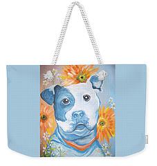 The Flower Pitt Weekender Tote Bag