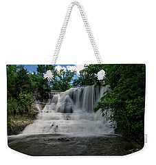 The Flowing Falls Weekender Tote Bag