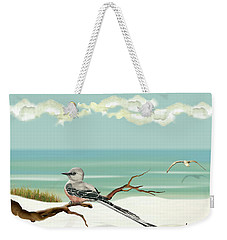 The Flycatcher Weekender Tote Bag