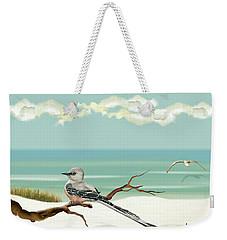 The Flycatcher Weekender Tote Bag