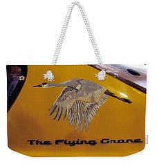 The Flying Crane Weekender Tote Bag