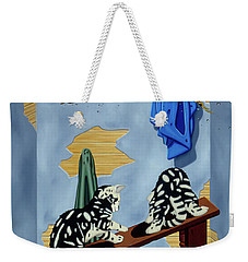 The Flying Frog Weekender Tote Bag