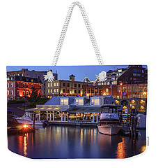 The Flying Otter Bar And Grill Weekender Tote Bag by Keith Boone