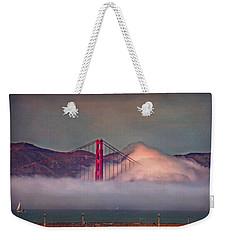 The Fog Weekender Tote Bag