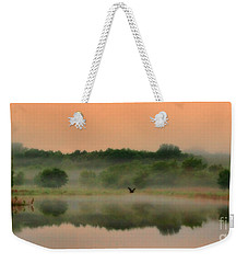 The Fog Of Summer Weekender Tote Bag