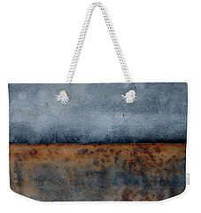 Weekender Tote Bag featuring the photograph The Fog Rolls In by Jani Freimann