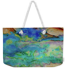 The Fog Rolls In Weekender Tote Bag by Kim Nelson
