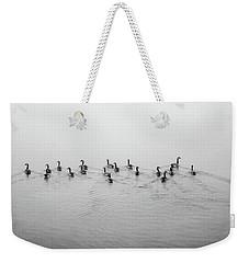 The Foggy Passage Weekender Tote Bag