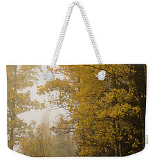 The Foggy Trail Beckons Weekender Tote Bag