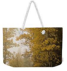 The Foggy Trail Beckons Weekender Tote Bag