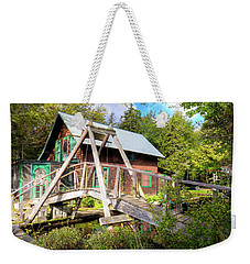 Weekender Tote Bag featuring the photograph The Footbridge At Palmer Point by David Patterson