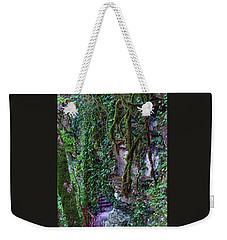 The Footpath In The Caucasus Mountains Weekender Tote Bag