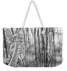 Weekender Tote Bag featuring the photograph The Forest Within by Kathi Mirto
