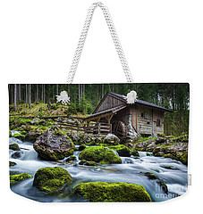 The Forgotten Mill Weekender Tote Bag by JR Photography