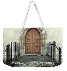 The Fortress Church's Side Door  Weekender Tote Bag