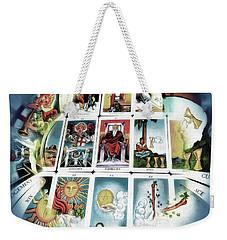 The Fortune Teller Weekender Tote Bag by Pennie  McCracken