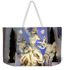 The Forum Shop Statues At Ceasars Palace Weekender Tote Bag