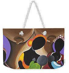 The Fountain Of Life Weekender Tote Bag