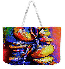 The Fountain Of Pots Weekender Tote Bag