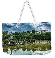 The Fountain Of The Ocean At The Boboli Gardens Weekender Tote Bag