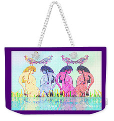 The Four Daughters Of Eve  -aka-  Four Rivers Weekender Tote Bag