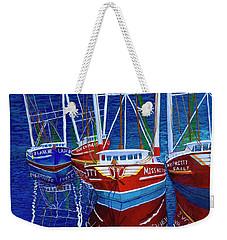 The Four Ladies Weekender Tote Bag