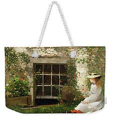 The Four Leaf Clover Weekender Tote Bag