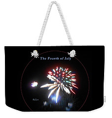 The Fourth Of July Weekender Tote Bag by Felipe Adan Lerma