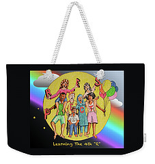 The Fourth R Weekender Tote Bag