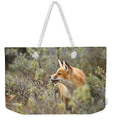 The Fox And Its Prey Weekender Tote Bag by Roeselien Raimond