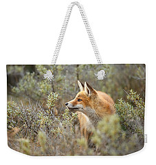 The Fox And Its Prey Weekender Tote Bag