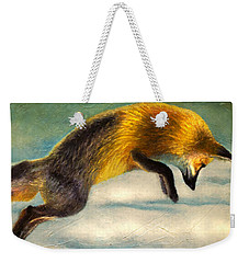 The Fox Hop Weekender Tote Bag