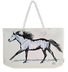 The Framed American Paint Horse Weekender Tote Bag