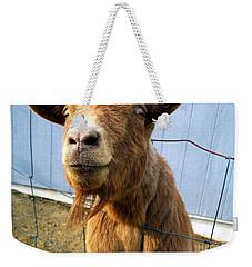 The Friendly Goat  Weekender Tote Bag